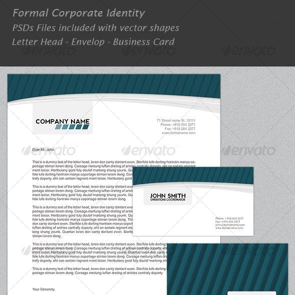 Formal Corporate Identity