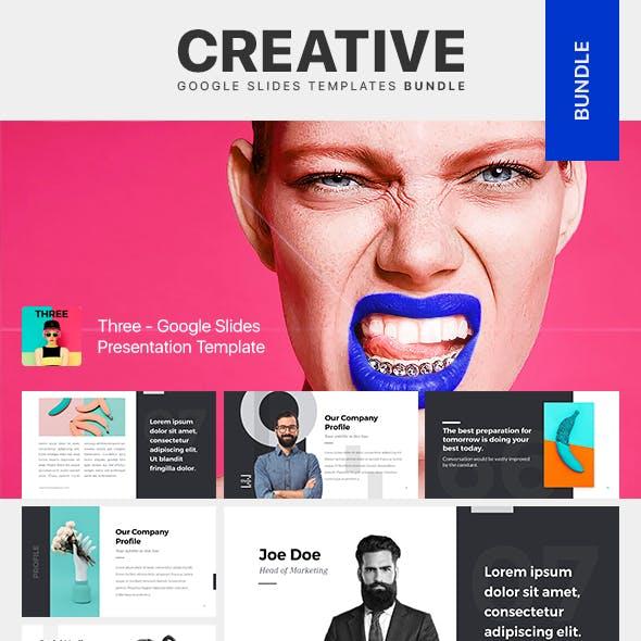 Creative Google Slides Templates Bundle