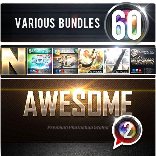 60 Various Bundles Vol.2