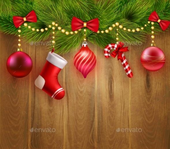 Christmas Festive Template - Christmas Seasons/Holidays