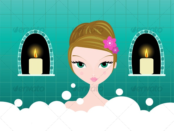 Bubble Bath - People Characters