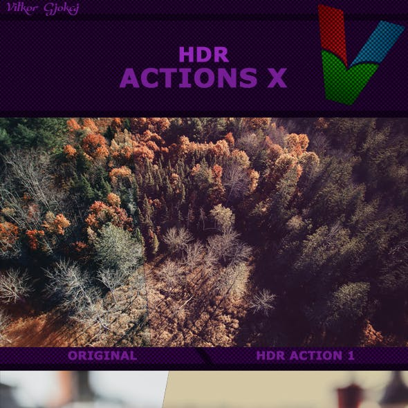 HDR Actions X