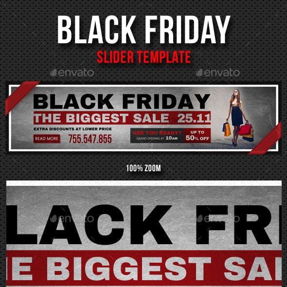 Black Friday Slider V01
