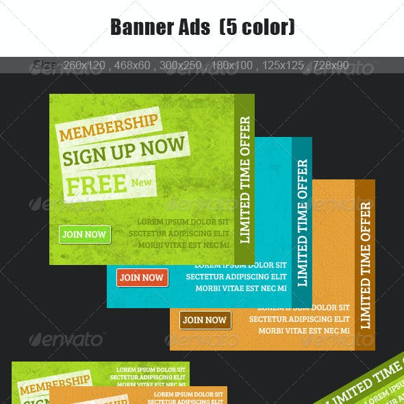 New web Banner Ads