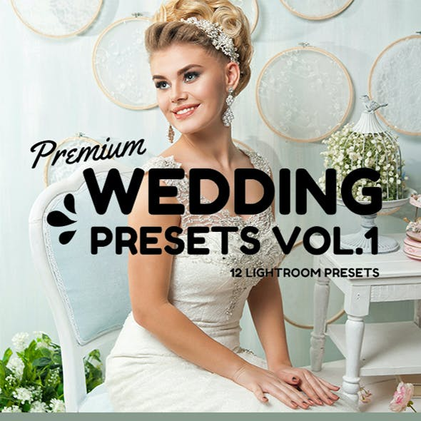 Professional Wedding Presets Vol.1