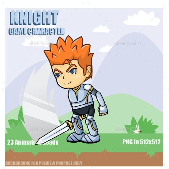 Warrior Sprite Sheet Character