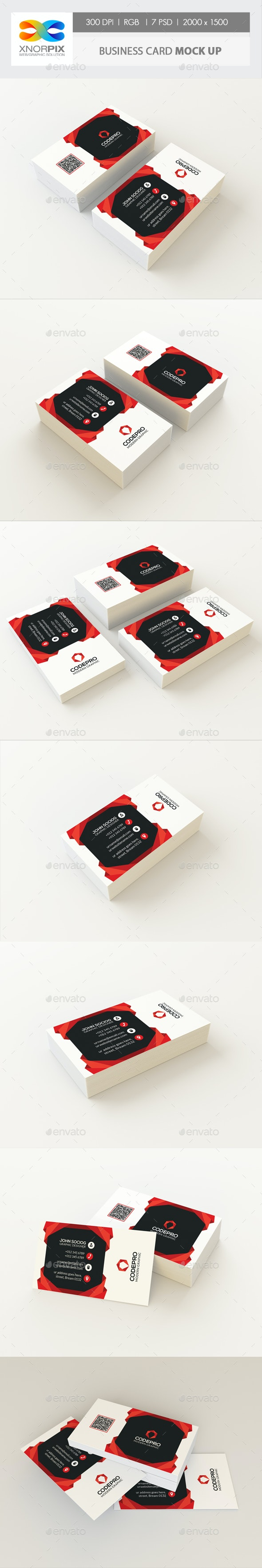 Business Card Mock up - Business Cards Print