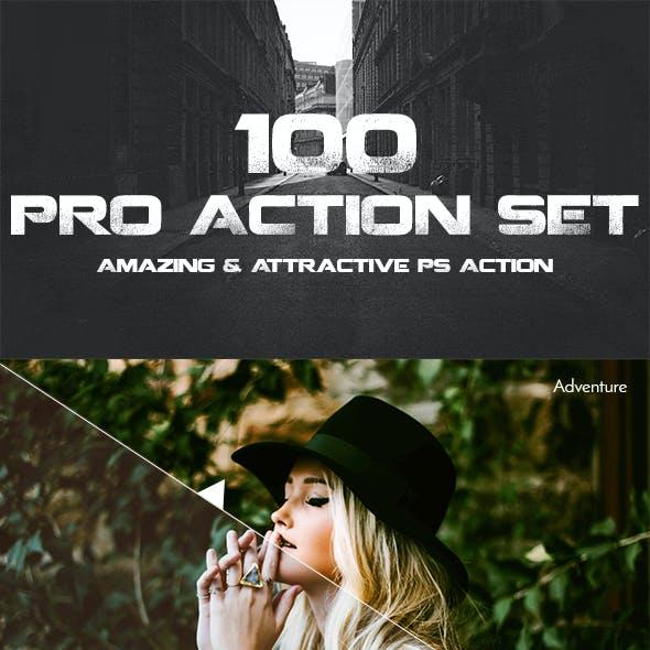 100 Pro Actions Set