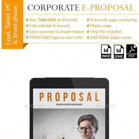 Coporate E-Proposal