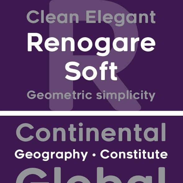 Renogare Soft font