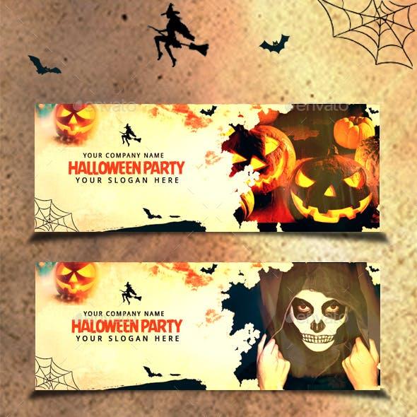 Halloween Grunge Cover Facebook