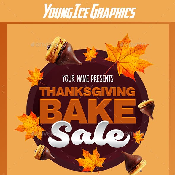Thanksgiving Sale Graphics Designs Templates