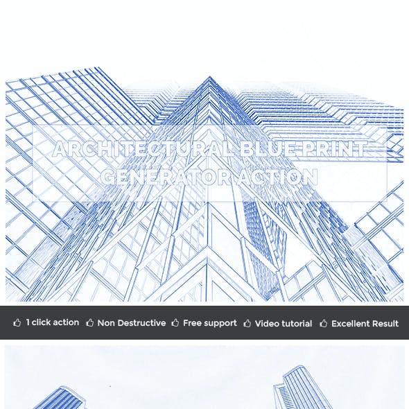 Architectural Blue Print Generator Action