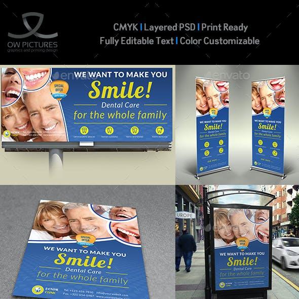 Dental Clinic Advertising Bundle