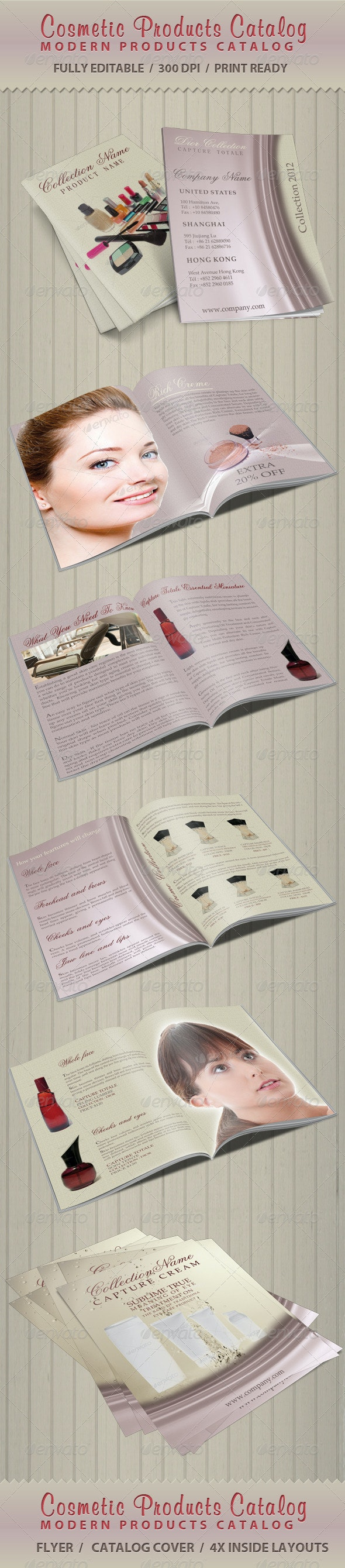 Cosmetic Products Catalog - Catalogs Brochures