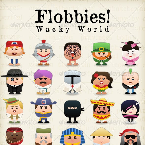 Flobbies! Wacky World