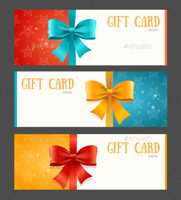 Gift Card Template - Miscellaneous Vectors