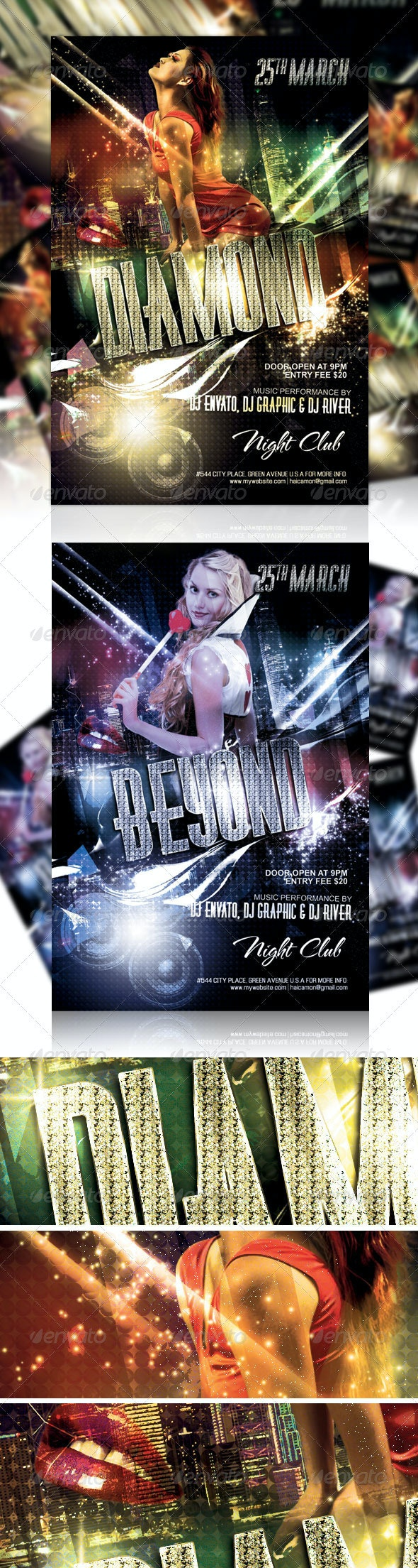 Night Club Party Flyer Vol_1 - Events Flyers