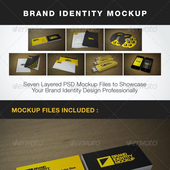 Brand Identity Mock-up