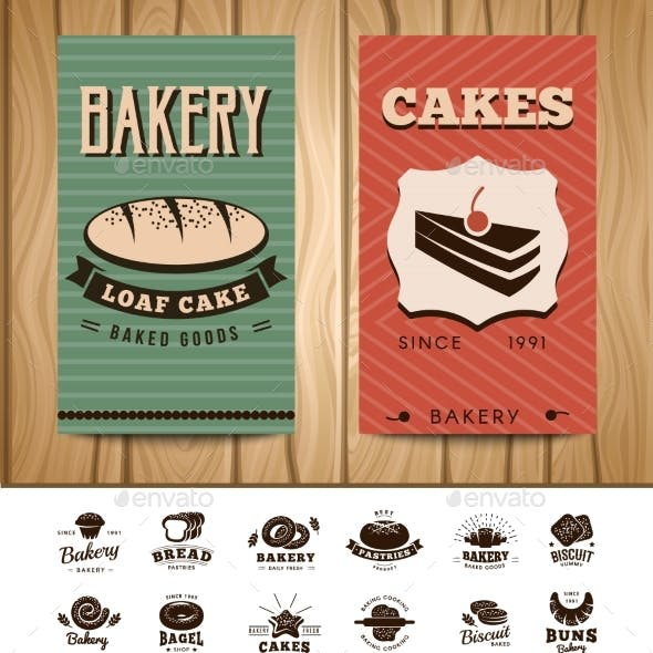 Bakery Visit Cards