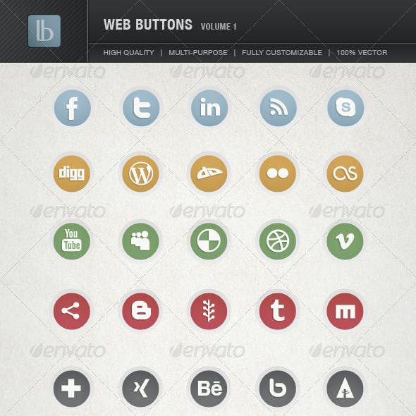 Web Buttons | Volume 1