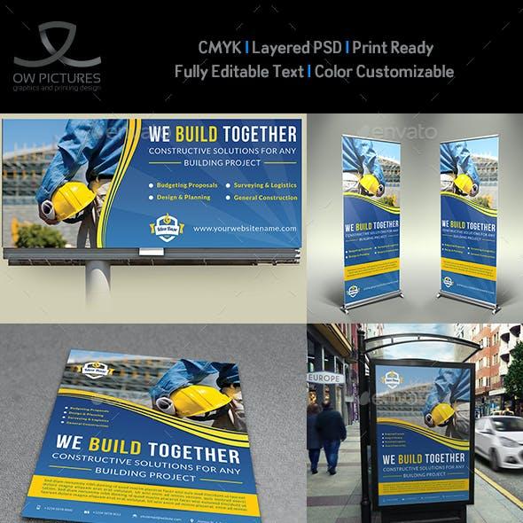 Construction Advertising Bundle Vol.3