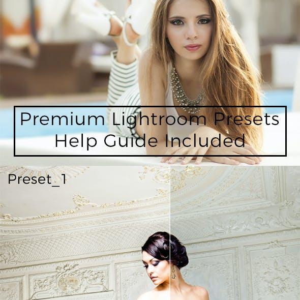 Realistic Lightroom Presets