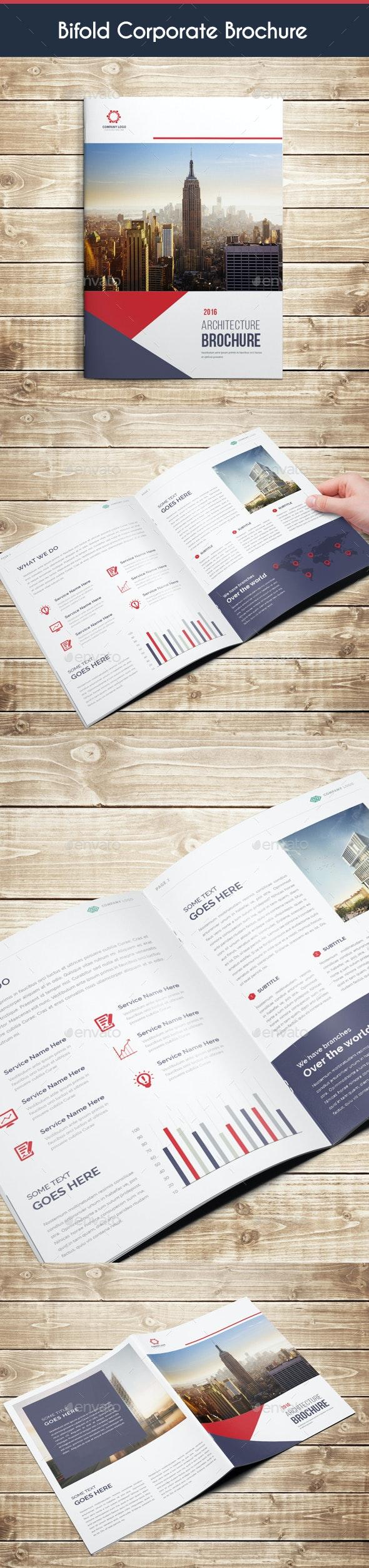 Bifold A4 Brochure 02 - Corporate Brochures