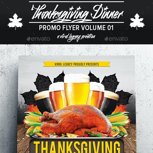 Thanksgiving Dinner V01
