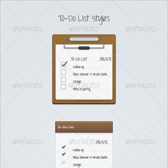 To-Do List Styles