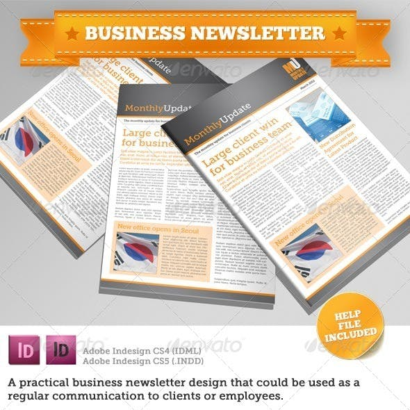 Business Newsletter Template