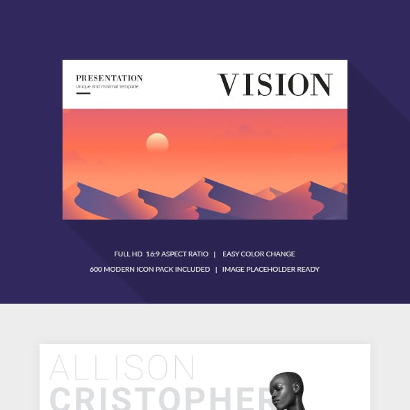 Vision Keynote Template