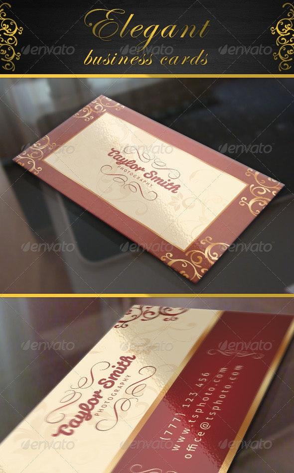 Elegant Business Cards - Creative Business Cards