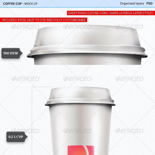 Coffee Cup Mock Ups #1