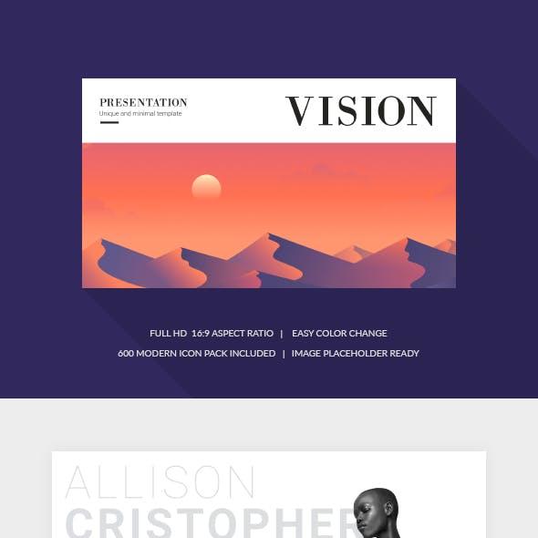 Vision Google Slides Template