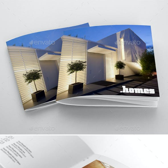 Square Catalogue Portfolio