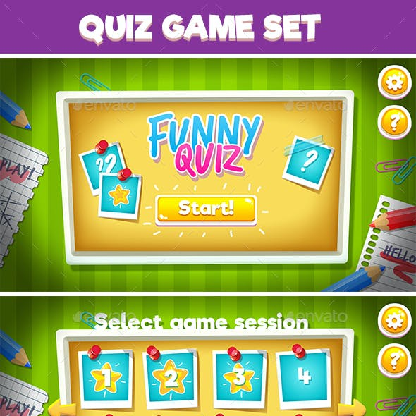 Children Quiz Full Game Set