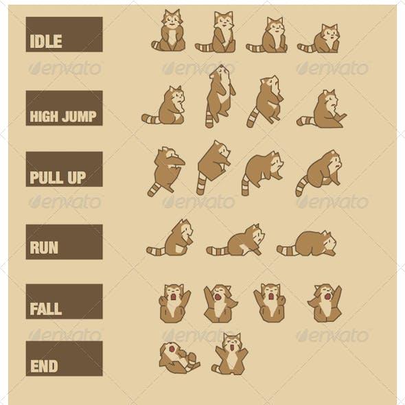Racoon Run Iphone Game Graphics