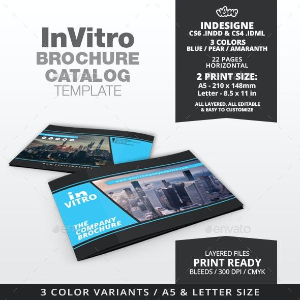 InVitro Company Brochure / Catalog Template
