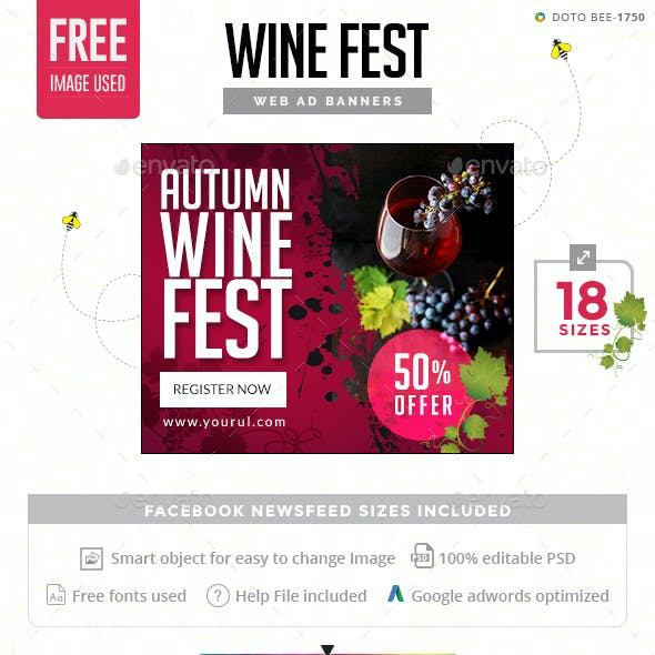Wine Fest Banners