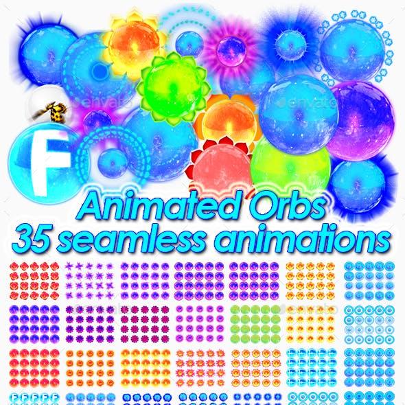 2D Magic Animated Orbs