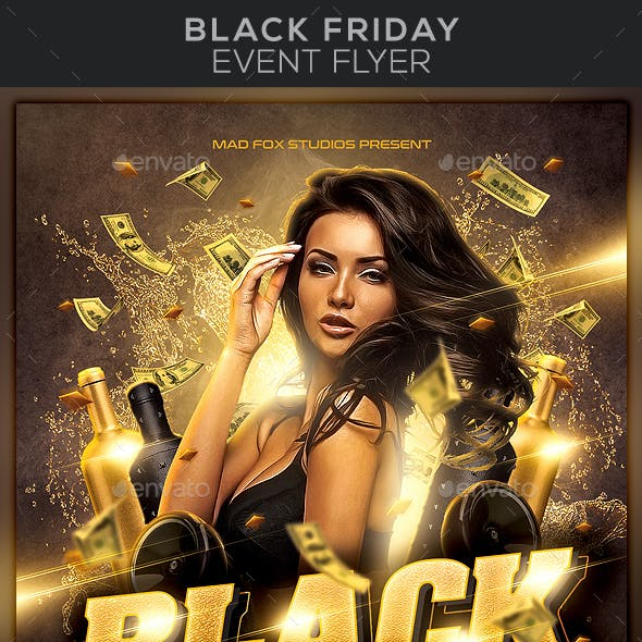 Black Friday Event Flyer