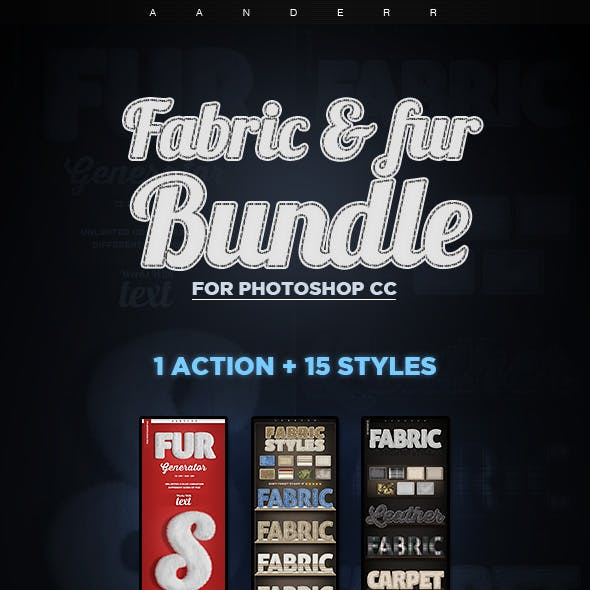 Fabric and Fur Bundle