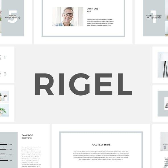 Rigel Keynote Template