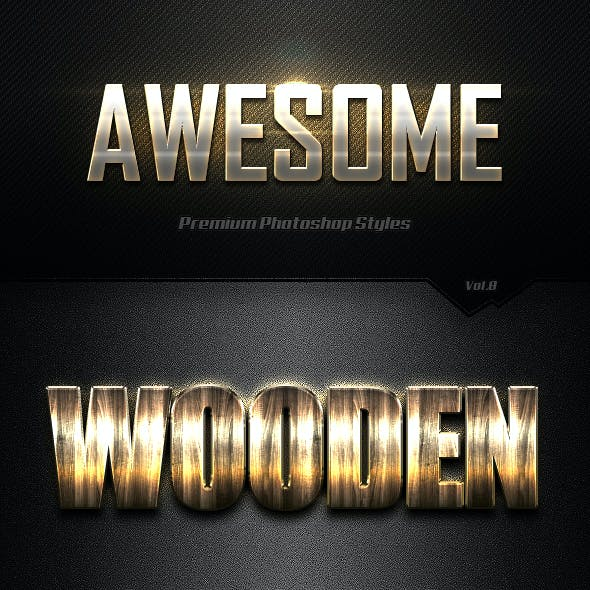 Awesome Photoshop Text Effects Vol.8