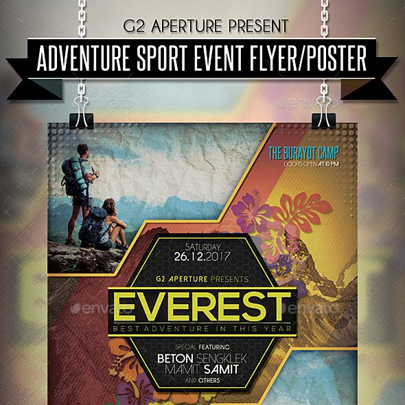 Adventure Sport Event Flyer / Poster