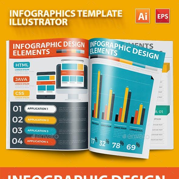 Infographics Template Design 4