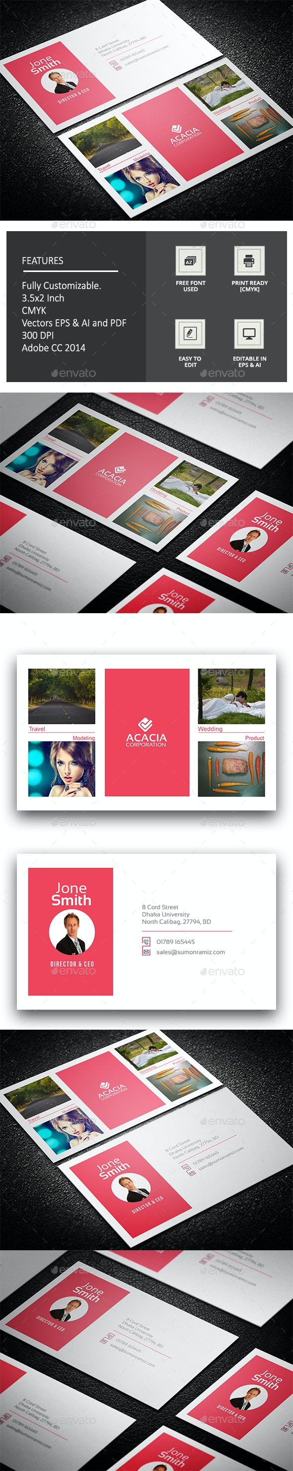 Photography Business Card - Corporate Business Cards
