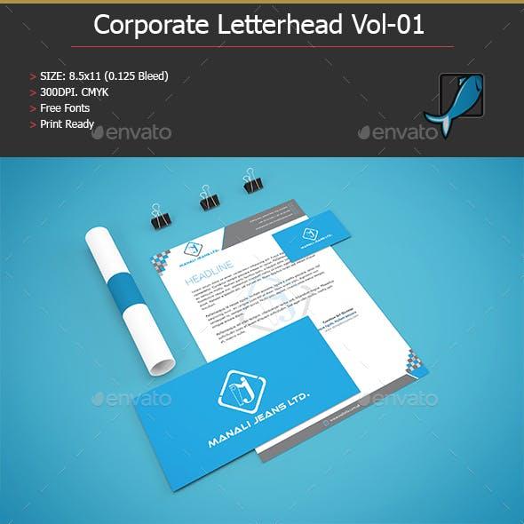 Corporate Letterhead Vol:01