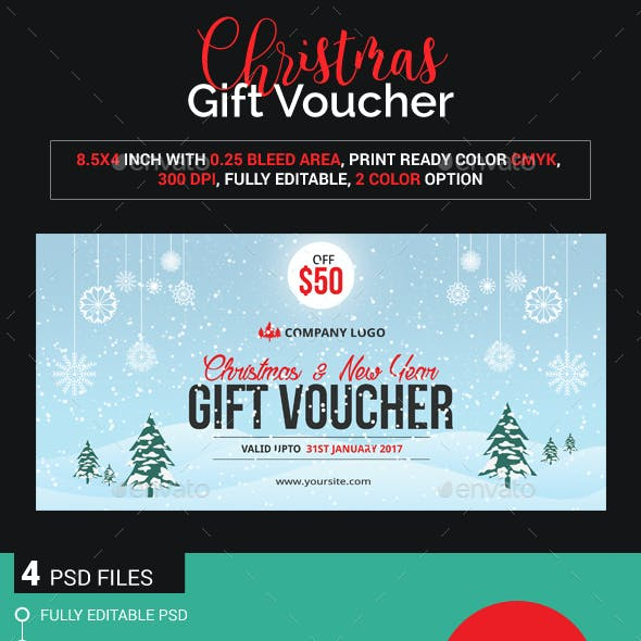Christmas gift voucher (Images Included)